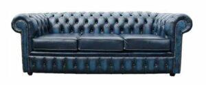 drie zits lederen sofa's voor soorten van Chesterfield stoelen